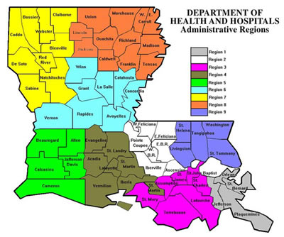 Louisiana Disability Legal Resources » Region 4 – Local Agencies